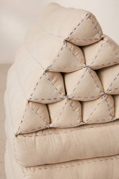Shop Convertible Triangle Floor Cushion at Urban Outfitters today. Loft Furniture, Home Decor Furniture, Furniture Design, Furniture Outlet, Furniture Ideas, Thai Decor, Mattress On Floor, Triangle Pillow, Cushions To Make