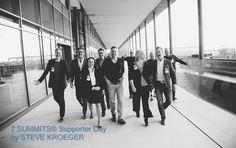 Das Redner-Team des fünften 7 Summits Supporter Day in Hamburg - Nov 2016!