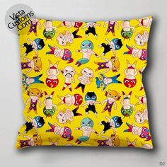 super hero comic marvel pattern Pillow Case, Chusion Cover ( 1 or 2 Side Print With Size 16, 18, 20, 26, 30, 36 inch )