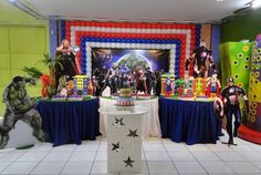 Avengers bday party