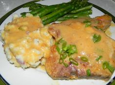 Southern Style Smothered Pork Chops with Buttermilk Gravy