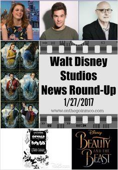 Walt Disney Studios News Round-Up 01 27 2017 Pinterest