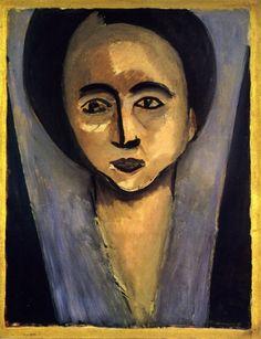 Henri Matisse / Sarah Stein http://venetianred.net/tag/portrait-of-sarah-stein/