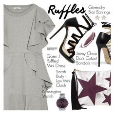 """""""Stay Fabulous!"""" by pokadoll ❤ liked on Polyvore featuring Goen.J, Jimmy Choo, Nixon, Givenchy, NARS Cosmetics, Hedi Slimane, polyvoreeditorial, polyvorefashion and polyvoreset"""
