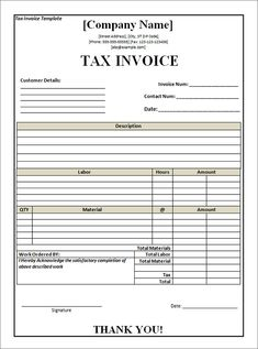 10 Best Excel Images Receipt Template Invoice Format