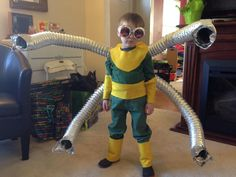 Friend Totally Nailed Her Son's Doc Ock Costume - Imgur