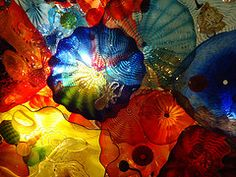 Chihuly glass (the lone beader gallery - photostream)