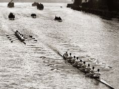 Rowing, Oxford V Cambridge Boat Race, 1928 Photographie sur AllPosters.fr