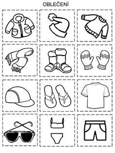Pro Šíšu: Tridime obleceni Zima - Leto Weather Activities For Kids, Preschool Weather, Preschool Activities, Cute Kids Crafts, Preschool Crafts, Kindergarten Math Worksheets, In Kindergarten, Winter Kids, Summer Kids