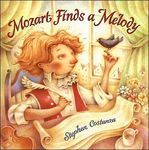 charming book of Mozart composing a song