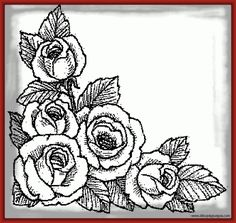 imagenes de rosas para dibujar - Search