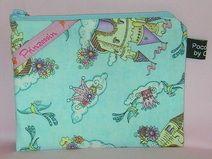 Geldbörse/Etui Prinzessin Lunch Box, Vintage, Princess, Handmade, Products, Bento Box, Vintage Comics