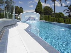 1000 images about paving ideas around pool on pinterest for Natural stone around pool