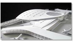 Library Architecture, Architecture Details, Airport Design, Architectural Models, Big Windows, Museum Exhibition, Train Station, 3d Printing, Architecture