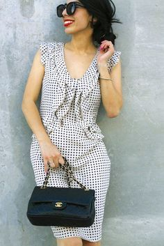 Dotted summer chic