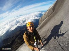 Abdullah, one of our Go PRO internship program candidates, completed the worlds highest via Ferrata after enjoying the spectacular sunrise at the Lows Peak summit :)