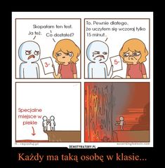 Każdy ma taką osobę w klasie... – Very Funny Memes, Wtf Funny, Dankest Memes, Jokes, Funny Lyrics, Polish Memes, Im Depressed, Funny Mems, Everything And Nothing