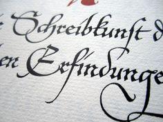 Hermann Zapf lettering
