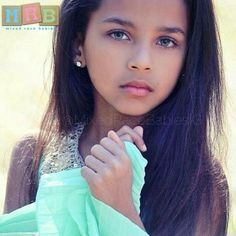 If I we're to have a daughter, I want her to look like this....absolutely gorgeous!
