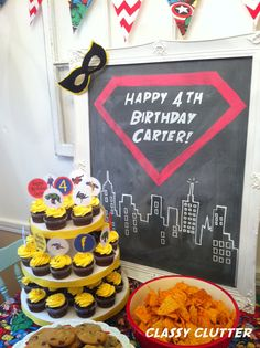 I just love it bc its says 4th and Carter :) oh and super heroes