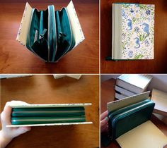 Amazing DIY Wallet Ideas DIY Book Clutch
