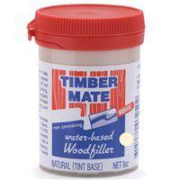 Timbermate Wood Filler, Water Based, 8-oz, Natural