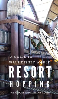 Disney Resort hopping could save you money or cost you a fortune. Here are our tips on how to make the best choices and what to know. #disneytips #disneyresorthopping #disneyforadults #disneyonabudget