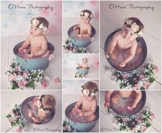 Baby girl photography milk bath Ideas for 2019 6 Month Baby Picture Ideas, Baby Girl Pictures, Newborn Pictures, 6 Month Pictures, Milk Bath Photography, Baby Girl Photography, Children Photography, Photography Ideas, Baby Milk Bath