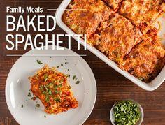 Good Taste — Easy Baked Spaghetti This family-pleasing dinner...