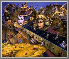 Aventuras surrealistas en un mundo mágico - Tomek Setowski