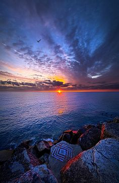 The Stories You Tell - On the shore of Lake Michigan. Wisconsin Horizons By Phil Koch. http://phil-koch.artistwebsites.com