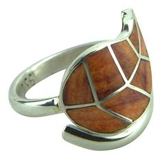 Peruvian 950 Solid Sterling Coca Leaf Ring Adjustable >>> Continue to the product at the image link.