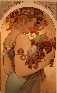 A piece by Alphonse Mucha, my favorite artist. If I didn't aspire to become a public teacher, I'd have this tattooed on my upper left arm in a heartbeat.