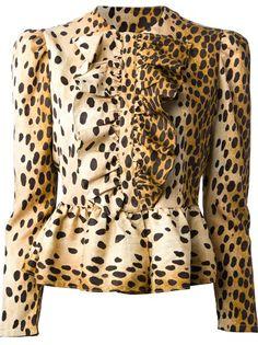 LABOUR OF LOVE - leopard print shirt