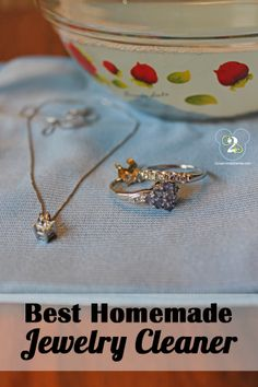 Easy and amazing homemade jewelry cleaner.