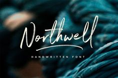 Northwell - Introducing: Northwell! A rustic, dapper handwritten font with a personal charm. With quick dry...