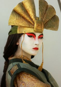"""I assure you, I would've done whatever it took to stop Chin. If I ever cosplayed, I would go as Avatar Freaking Kyoshi. Avatar Cosplay, Anime Cosplay, Cosplay Diy, Cosplay Outfits, Halloween Cosplay, Best Cosplay, Avatar Costumes, Suki Avatar, Avatar Kyoshi"