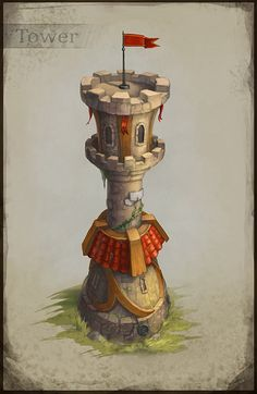 ArtStation - Towers, Anastasia Astasheva
