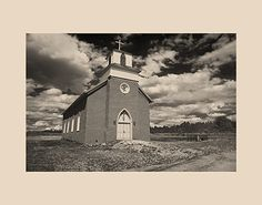 San Rafael Church, La Cueva, New Mexico; New Mexico; Adobe Churches of New Mexico; Adobe Churches in New Mexico; Adobe Churches; New Mexico; New Mexico Adobe Churches; John A. Benigno; John Benigno