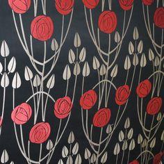 Fabrics -- Charles Rennie Mackintosh
