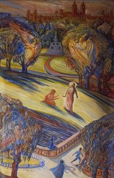 Christ in the Garden with Mary Magdalene by Lawrence OP, via Flickr