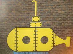 Submarine Cardboard Photobooth For Sale