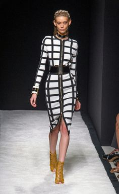 Balmain - PFW Spring/Summer 2015 - www.so-sophisticated.com