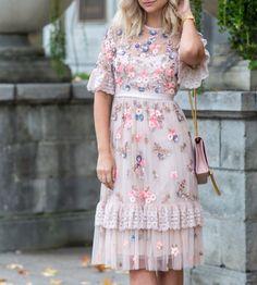 Ditsy Scatter Dress