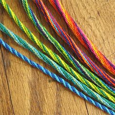 How to make spiral braids in lots of sizes for jewelry or sewing trims.