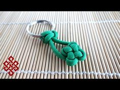 How to Make a Clover Knot Paracord Key Chain Tutorial - YouTube