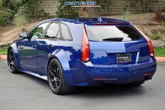 Cadillac Cts V Wagon Wide Body Kit