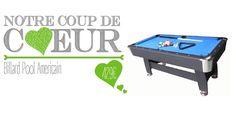 Coup de coeur : Billard américain #billard #jeux #jeuxcafé #cadeau #idéecadeau