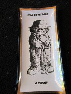 Vintage Wm Box vintage glass birthday ashtray  What by kookykitsch, $10.00