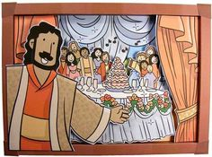 A Meal with Jesus in Heaven 3D Picture